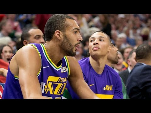 Rudy Gobert Ejected! Jazz Blowout Rockets! 2018-19 NBA Season