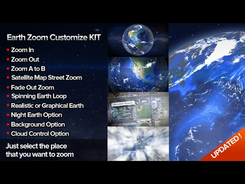 Earth zoom customize kit 4 after effects template youtube earth zoom customize kit 4 after effects template gumiabroncs Image collections