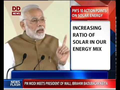 ISA: PM shares 10 action points on solar energy