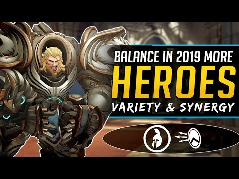 Overwatch More Heroes in 2019 Needed - Hero Balance & Meta thumbnail