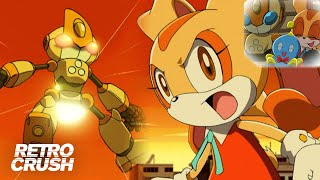 Cream vs. Emerl: The saddest knockout in Sonic history | Sonic X (2003)