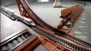 Tyco Super Turbo Train w/ Daredevil Jump
