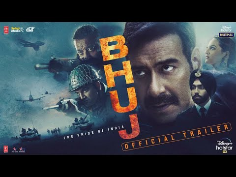Bhuj: The Pride Of India - Official Trailer| Ajay D. Sonakshi S. Sanjay D. Ammy V. Nora F |13th Aug
