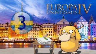 Europa Universalis IV. Швеция #3 Что там в Норвегии?