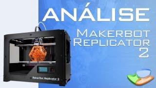 Testamos a Impressora 3D MakerBot Replicator 2 - Tecmundo