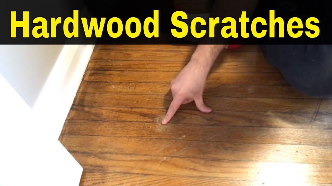 How To Fix Hardwood Floor Scratches-Full Tutorial