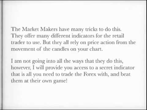 Secret Forex Indicator the Market Makers don%27t want you to know about