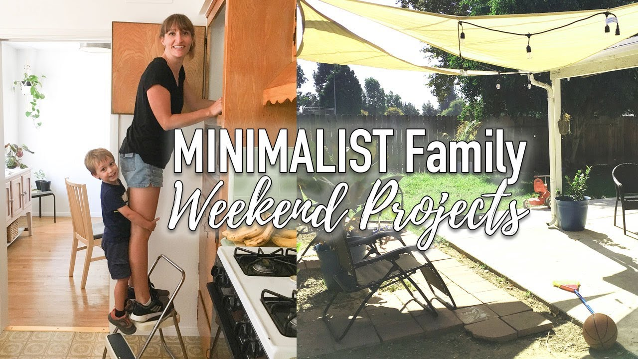 Minimalist Family Home Weekend Projects