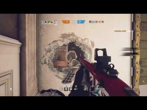 Tom Clancy's Rainbow Six Siege : Sledge and Mute Shotgun Power!!!