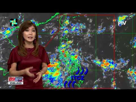 PTV INFO WEATHER: LPA na nagpapaulan sa Luzon at Visayas, kasalukuyang nasa West Philippine Sea