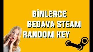 Bedava Steam Random Key Kazanın