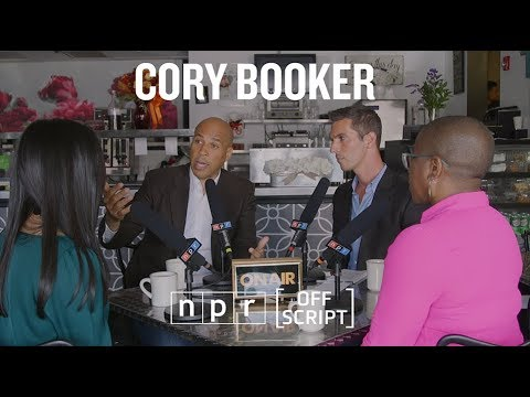 Cory Booker Talks Student Debt, Criminal Justice With Undecided Voters | Off Script | NPR