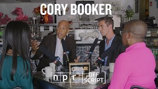 Full Intv: Cory Booker Talks Policy With Two Undecided Voters In His Hometown | Off Script | Npr