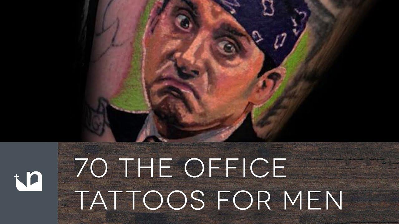 70 The Office Tattoos For Men – Dunder Mifflin Design Ideas
