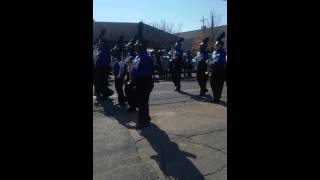MHS marching band @Meridian Mlk parade