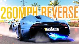 260MPH IN REVERSE?! KOENIGSEGG REGERA | Forza Horizon 3 Gameplay
