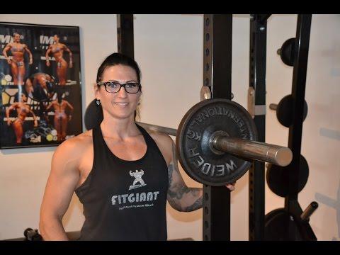 Zu Besuch bei Birgit Andersch, deutsche Meisterin im Bodybuilding