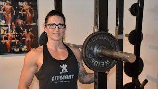 Repeat youtube video Zu Besuch bei Birgit Andersch, deutsche Meisterin im Bodybuilding