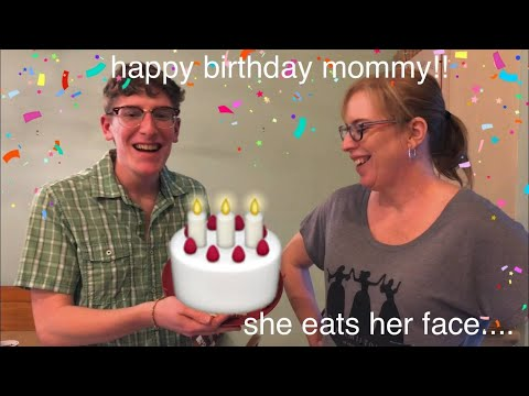 Woody's World - WATCH: My Son Nick Bakes Mom INTO a Birthday Cake