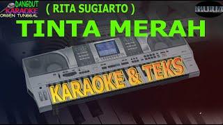 karaoke dangdut TINTA MERAH RITA SUGIARTO kybord KN2400/KN2600