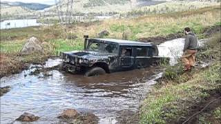 HUMMER and UNIMOG Extreme OFFROAD 4X4 in 4x4 ARB Off Road Rally Mont Tremblant
