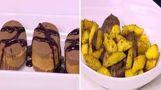 لحم مشوي مغربي - شيكولاتة بزبدة الفول السوداني | مغربيات حلقة كاملة