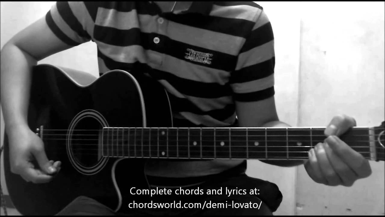 Let It Go Chords By Demi Lovato How To Play Chordsworld