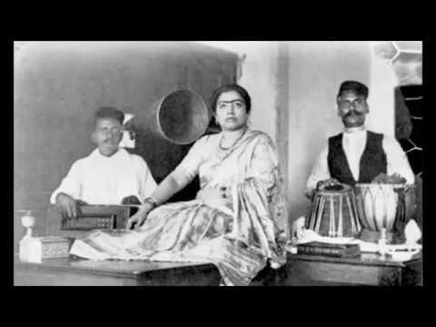 GAUHAR JAAN  - Mere dard e jigar ki khabar hi nahin - Recorded in 1905