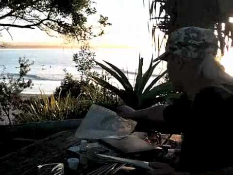 Jane Davenports outdoor studio
