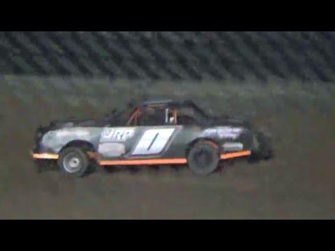 Ark La Tex Speedway ZERO Cancer Factory stock heat 4 4/2/16