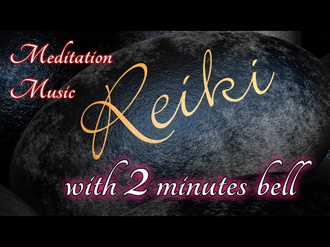 Reiki Healing Music with 2 minute Reiki Timer (1 hour Reiki practice 30 hand positions)