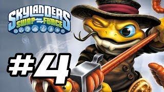 Skylanders Swap Force Gameplay Walkthrough - Part 4 - NEW RATTLE SHAKE!! (Skylanders Gameplay HD)