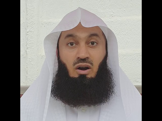 Shout out to the true heroes & heroines of this fight - Mufti Menk