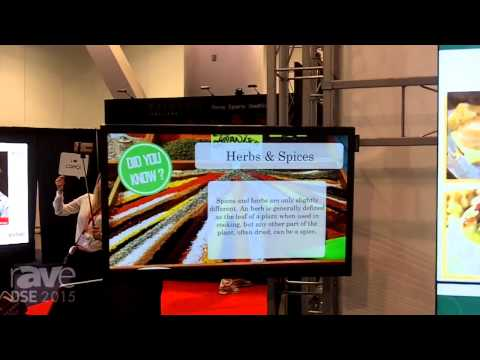 DSE 2015: ComQi Demonstrates Choreographed Screens with Themed Content