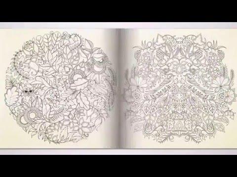 Buyuklere Boyama Kitabi Gizemli Orman Youtube