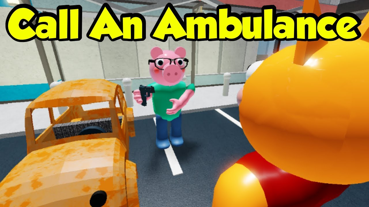 Call An Ambulance But Not For Me Roblox Piggy Meme Youtube Potentially higher quality, but larger filesize. call an ambulance but not for me roblox piggy meme