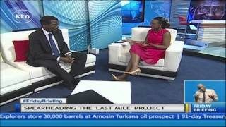 Kenya Power CEO and MD, Dr Ben Chumo, lights up Friday Briefing