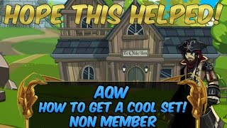 AQW | How to get a really good set! | Xin! Resimi