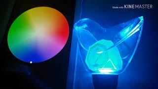 [UNBOXING, REVIEWING, AND COMPARING] THE GOT7 OFFICIAL LIGHTSTICK 2018 Ver/ft.GOT7 Lightstick App.