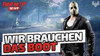 Wir brauchen das Boot - ♠ Friday The 13th: The Game Season 2 ♠ - Deutsch German - Dhalucard