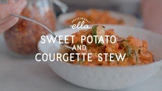Sweet Potato & Courgette Stew | Vegan | Deliciously Ella
