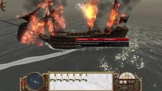 6 кораблей РФ VS 2 корабля из британии