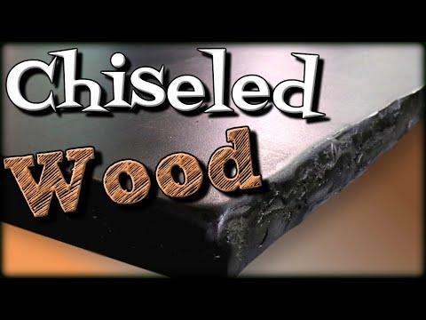 Turn Wood Into Chiseled Stone