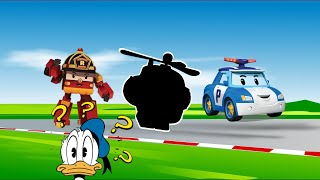 Car toy Surprise eggs and Cars and Robocar poli toys play