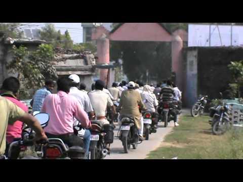 Motor Cycle Rally SVEEP 2015 west Champaran,Bettiah