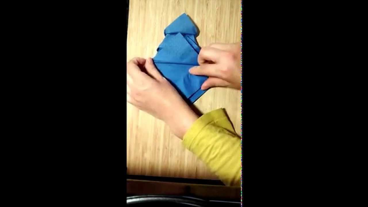 Como doblar servilletas para navidad youtube - Doblar servilletas para navidad ...