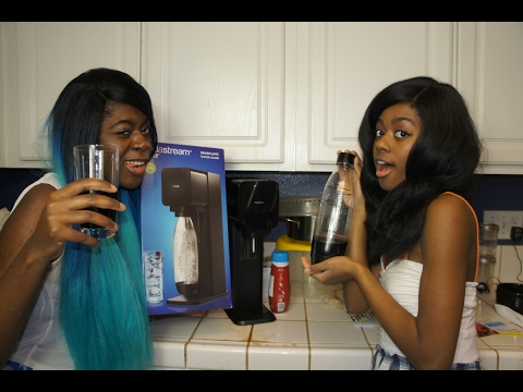 OMG DIY Soda! | SodaStream Play Sparkling Water Maker | Unboxing | Review | First Impressions