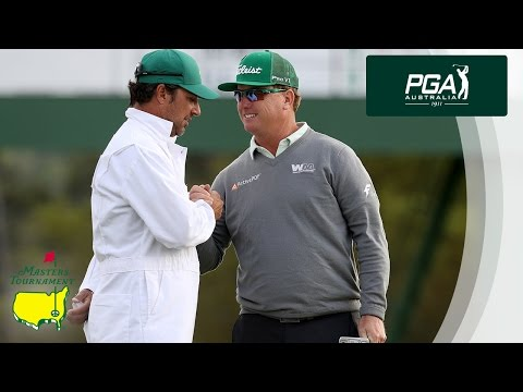 Charley Hoffman Round of 65 at the Masters Tournament