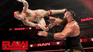 Braun Strowman vs. Randy Rowe: Raw Reunion, July 22, 2019