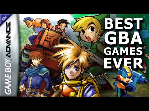 Best GBA Games & Gameboy Advance Collection video!